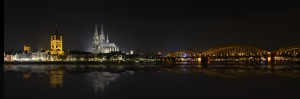 Cologne by night