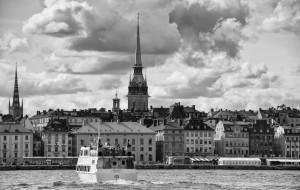 Stockholm in b&w - Sweden